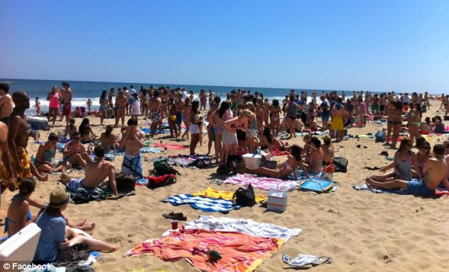 Last year Indian Wells Beach in East Hampton was invaded by a young and rowdy party crowd and locals are fearing worse this summer