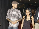 Next step: It is thought Chris Brown and Karrueche Tran are living together full time now