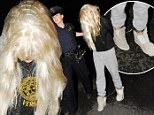 PICTURED: Amanda Bynes' shame is complete as she is dragged along in leg shackles following pot bong arrest