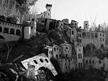 Eerie: The religious theme park features sprawling replicas of biblical villages that have since fallen into disrepair