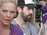 Leggy Katherine Heigl dons flirty dress for lunch with husband Josh Kelley in New Orleans