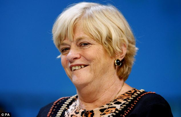 Unburdened: Former Tory MP Ann Widdecombe has revealed the details of her rise to the top of politics in her memoir