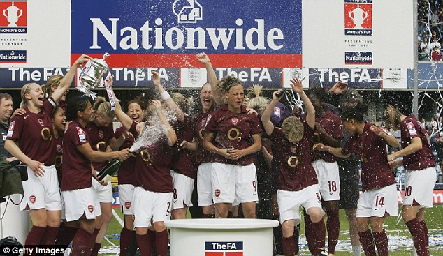 Dominate: Arsenal Ladies will be looking for their 12th FA Cup success