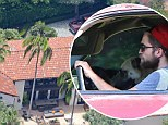 Starting over: Robert Pattinson has moved back to his home in the Hollywood Hills