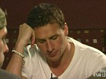 Dumped! Olympic swimmer Ryan Lochte looks glum after he splits from long-distance love Jamiee Hollier over the phone