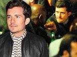 Orlando Bloom dines in Cannes with his Zulu co-star Forest Whitaker