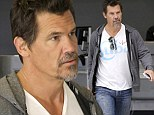 He's OK with being an Oldboy: Josh Brolin embraces his greying beard in the lead-up to the release of his new film... and is a silver fox indeed