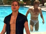 PICTURED: Bulked up Matt Damon strips down to portray Liberace's lover in HBO's rave-reviewed Behind the Candelabra
