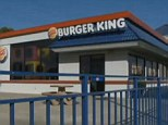 Have it your way: A duo of thieves tried to rob this Burger King in Stockton, California, but were thwarted when an employee turned the tables on them by stealing their getaway car, police say