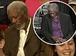 Morgan Freeman has the last laugh as he mocks himself and dozes off in Late Night with Jimmy Fallon audience