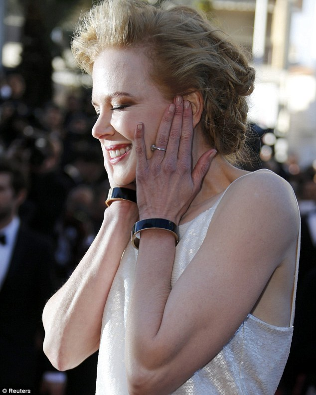 Flawless: Nicole showed just how to look understated at the Polanksi premiere