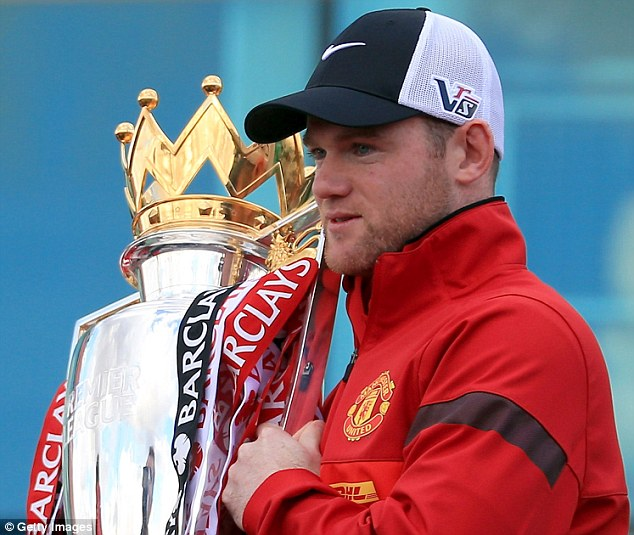 Up for the cup: Rooney might have played his last game for the Premier League champions