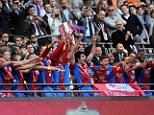 Premier League: Palace lift the trophy at Wembley after winning their £120m match