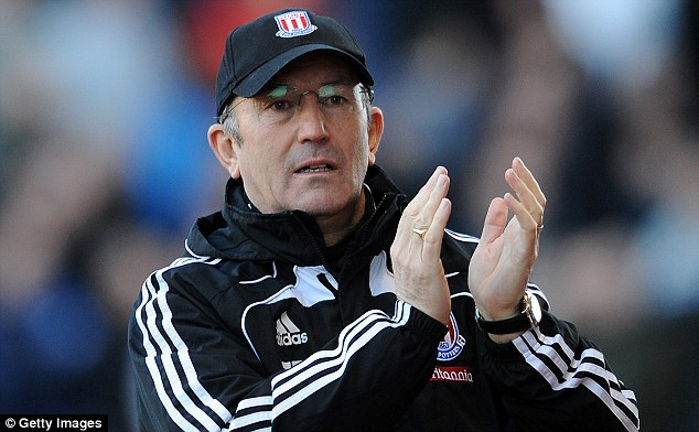 Axed: Stoke and manager Tony Pulis parted company last week