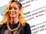 Shine bright like a diamond! Rihanna takes the stage in Spain after Amanda Bynes Twitter attack