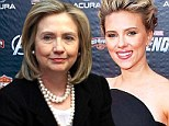 From spy to Secretary of State: Scarlett Johansson may play Hilary Clinton in upcoming biopic, Rodham... unless Jessica Chastain, Amanda Seyfried or Reese Witherspoon beat her to it