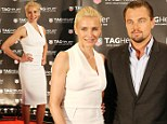 Leonardo DiCaprio joins white hot Cameron Diaz on red carpet... as Great Gatsby star continues his partying streak in French Riviera
