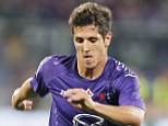 Breaking point: Arsenal's long-term interest in Fiorentina's Stevan Jovetic could have halted over the £25m fee