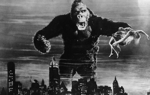 Legendary ape: King Kong first appeared on the silver screnn in 1933 and has endured in popularity for the past 80 years