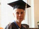 Lifelong ambition: Carol Berman, 64, from New York, celebrated graduating from college on Friday