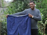 Alwyn said: 'I changed my diet first, I didn't really feel comfortable exercising or going to a gym until I'd lost the first five stone.'