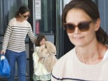 Beachy Days! Katie Holmes takes a break from filming Mania Days to treat Suri to a weekend at a Florida beach