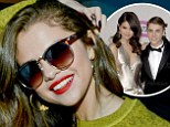 Is this the smile that says I'm back with Bieber? Selena Gomez beams amid rumours of yet another reconciliation