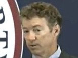 Sen. Paul mocked Obamacare's regulatory push, saying, 'Your government just wants to take care of you; they don't think you're smart enough to make these decisions'