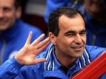 Much loved: Martinez is widely respected and he is adored by Wigan supporters