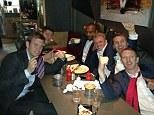 Breakfast with my boys at 5am! #thisishowwedoit pic.twitter.com/cK5E56nQ4J