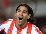 Monaco bound: Atletico Madrid's Radamel Falcao has passed a medical at the French club and looks set to leave Spain