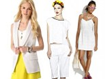 No longer a mere neutral, white garments are now the centerpiece of a look, with designers from Alexander Wang to Victoria Beckham showing predominantly white collections for spring/summer 2013.