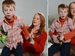 Controversial: Jenny Young is pictured with her son Ryan. The 10-year-old has special needs and learning difficulties and his mother said that 'if he were a dog she would put him down'