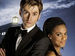 Diversity: The BBC has vehemently denied claims that Doctor Who is 'racist', pointing out the casting of Freema Agyeman as Martha alongside David Tennant's Dr in 2006