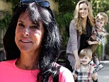 Brooke Mueller 'desperate' not to lose $55,000 A MONTH in child support from ex Charlie Sheen...so her mother 'moves in' to take care of twins