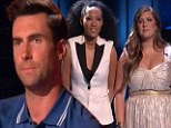 A devastating one-two! Adam Levine is on the ropes after being hit with double elimination blow on The Voice