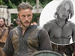 Former Calvin Klein underwear model Travis Fimmel gets a hairy makeover as he takes on new role in TV series Vikings