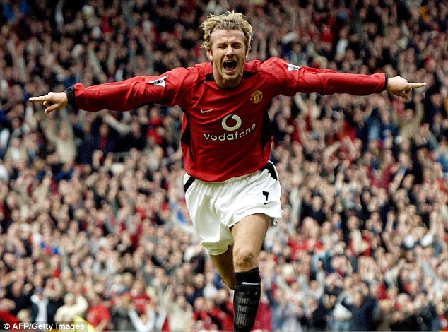 Farewell: Beckham's career spread over 20 years, and he left a mark everywhere he went