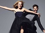 Keeping it fresh: Gillian Anderson has revealed how she chooses her roles while posing up with her The Fall co-star Jamie Dornan in a new shoot in Red magazine