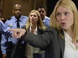 Is Carrie Mathison stirring up trouble again? An angry Claire Danes is escorted by police as she shoots new Homeland scene
