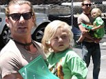 Pre-school's... out... for Tuesday! Gavin Rossdale picks up son Zuma from school after awesome Memorial Day weekend