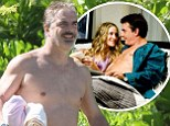 Chris Noth on holiday