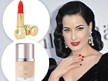 Dita Von Teese's three HUNDRED beauty must-haves: Glamorous star admits it takes a lot to look this good