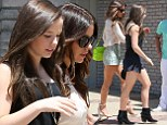 So in sync! Kate Beckinsale and her daughter Lily Mo Sheen look like twins as they arrive at Joel Silver's annual Memorial Day beach party in Los Malibu, California on Monday