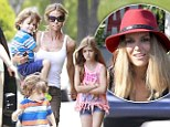 Brooke Mueller attempts to wrestle custody of her twins from Denise Richards' but judge denies her for the THIRD time