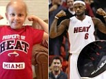 Miami Heat superstar LeBron James gave a touching tribute to one of his biggest fans last night