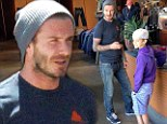 Shop it like daddy! David Beckham installs his passion for fashion in son Romeo
