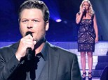 Miranda Lambert breaks down at Oklahoma tornado charity concert led by husband Blake Shelton... as he denies cheating