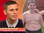 'I'm in unbearable pain': Curse of the gastric band he got at just THIRTEEN after means Emrah Mevsimler is now saving up to removed it