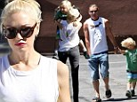 Look who's up early! Gwen Stefani takes the morning shift as she and husband Gavin Rossdale plan Zuma's school schedule